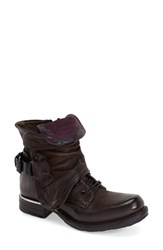 Women's A.S.98 'Simon' Bootie Brown Leather