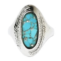 Stefanie Sheehan Jewelry Paradise Ring With Inlay Stonesterling Silver 6 Turquoise