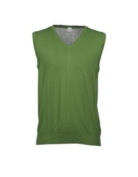 Lang Sweater Vests Military Green