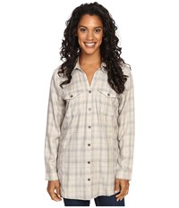Royal Robbins Beechwood Wool Blend Long Sleeve Sandstone Women's Long Sleeve Button Up Beige