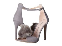 Chinese Laundry Jannet Grey Micro Suede High Heels Green