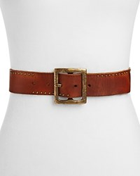 Paige Jenine Studded Belt Tan