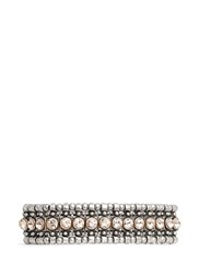 Philippe Audibert 'Roselynette' Ball Edge Crystal Elastic Bracelet Pink