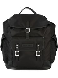 Dsquared2 Buckle Fastening Backpack Black