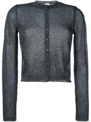 M Missoni Metallic Effect Cardigan Black