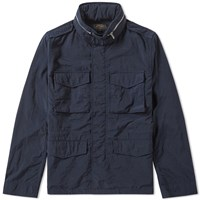 Beams Plus Garment Dyed M65 Jacket Blue