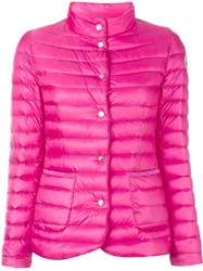 Moncler Classic Puffer Jacket Pink And Purple