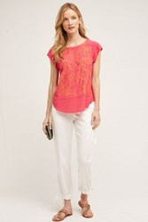 Anthropologie Clancy Joggers White