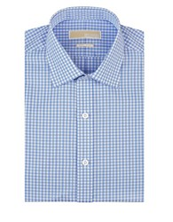 Michael Michael Kors Checkered Dress Shirt Grey