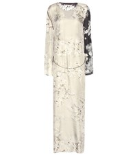 Calvin Klein Printed Chain Embellished Dress Multicoloured