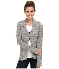 Royal Robbins Athena Cardi Charcoal Women's Sweater Gray