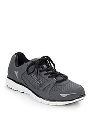 Fila Memory Synergy Running Shoes Grey White
