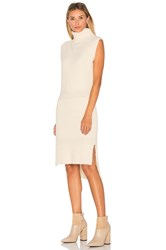 Lucy Paris Danielle Knit Dress Cream
