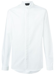 Harmony Paris Mandarin Collar Shirt White