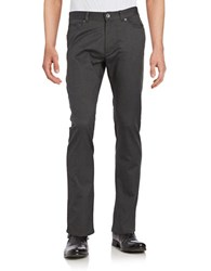 Calvin Klein Five Pocket Herringbone Tweed Pants Tornado