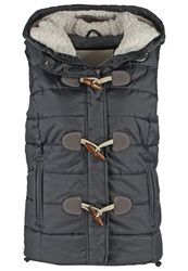 Superdry Waistcoat Black Anthracite