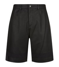 T By Alexander Wang Leather Shorts Male