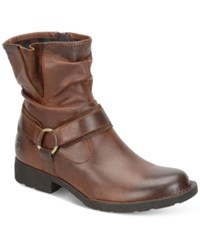 Born Estonia Motorcycle Booties Women's Shoes Russet