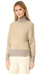3.1 Phillip Lim Turtleneck Cocoon Pullover Nude