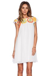 Kas Akma Mini Dress White