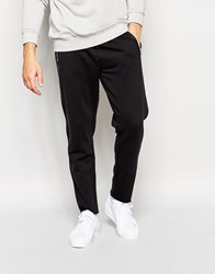 Cheap Monday Trousers Myth Tapered Zip Pockets In Black Punkblack