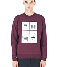 Yang Li 2 X 2 Sweater Burgundy