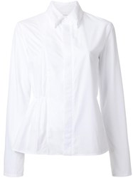Julien David Classic Shirt White