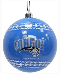 Memory Company Orlando Magic Ugly Sweater Ball Ornament Blue