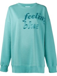 Ashish Feeling Blue Sweatshirt
