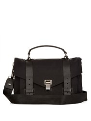 Proenza Schouler Ps1 Classic Nylon Cross Body Bag Black
