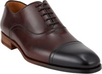 Duckie Brown Cap Toe Balmorals Black