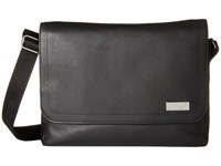 Ogio Gran Premio All Leather Messenger Black Messenger Bags