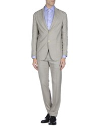 Tombolini Suits And Jackets Suits Men Khaki