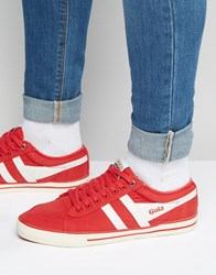 Gola Comet Trainers Red