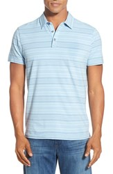 Robert Barakett Men's 'Otis' Stripe Polo