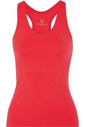 Lucas Hugh Technical Knit Stretch Tank Red
