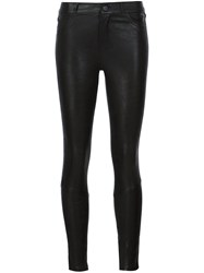 Paige Skinny Trousers Black