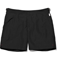 Orlebar Brown Bulldog Mid Length Swim Shorts Black