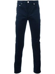 Paul Smith Ps By Slim Fit Chinos Blue