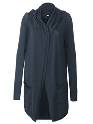 Lavand Long Cardigan With Two Pockets Grey
