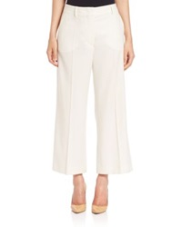 Sportmax Pico Cropped Trousers White