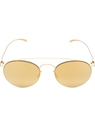 Mykita Aviator Sunglasses Metallic