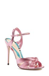 Gucci Women's 'Allie' Peep Toe Pump Pink