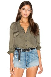Free People Monday Morning Top Olive