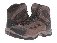 Hi Tec Bandera Mid 200 Waterproof Dark Chocolate Bungee Warm Grey Men's Shoes Brown