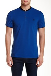 The Kooples Solid Polo Blue