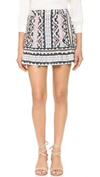 Nanette Lepore Sway With Me Skort Natural Multi