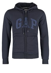 Gap Sherpa Tracksuit Top New Classic Navy Blue