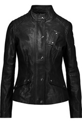 Belstaff Redgrave Leather Jacket Black