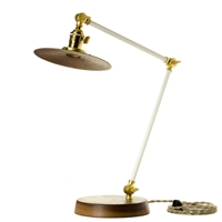 Ofs. Task Lamp Walnut Old Faithful Shop
